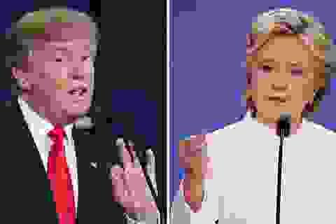 Lộ video tỷ phú Trump từng khen ngợi nhà Clinton hết lời