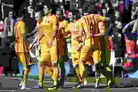 Hạ gục Levante, Barcelona vững ngôi đầu bảng