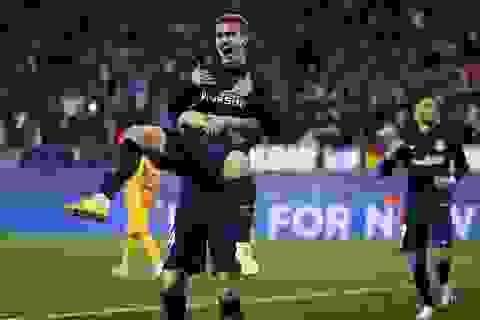 Gục ngã trước Atletico, Barcelona thành cựu vương Champions League
