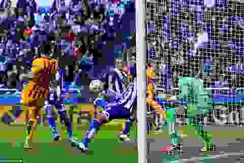 Deportivo 0-8 Barcelona: Đêm bùng nổ của Suarez