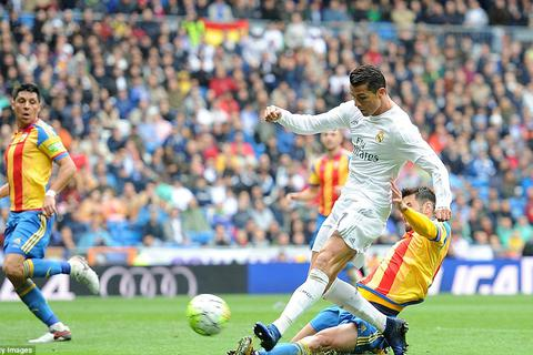 Real Madrid 3-2 Valencia: Cứu tinh C.Ronaldo