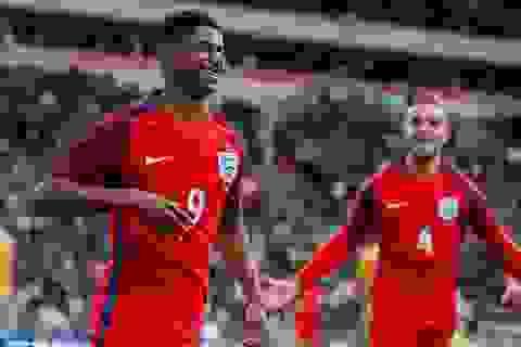 Rashford lập kỷ lục ngay trong trận ra mắt tuyển Anh
