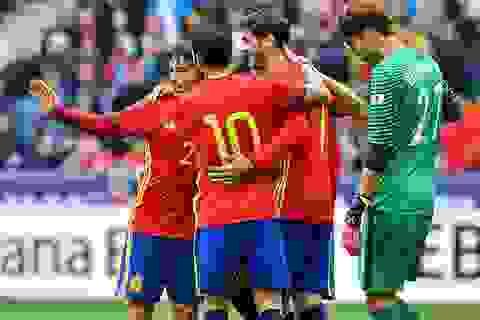 Tây Ban Nha 6-1 Hàn Quốc: Morata và Nolito lập cú đúp