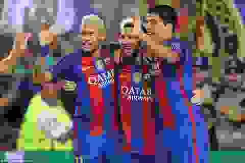 Barcelona 7-0 Celtic: Cú hattrick của Messi
