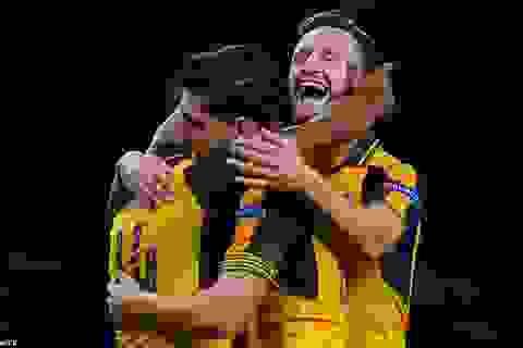 Walcott lập cú đúp, Arsenal thắng đẹp trước Basel