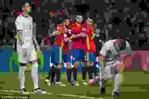 Thắng đậm Macedonia, Tây Ban Nha vững ngôi đầu bảng