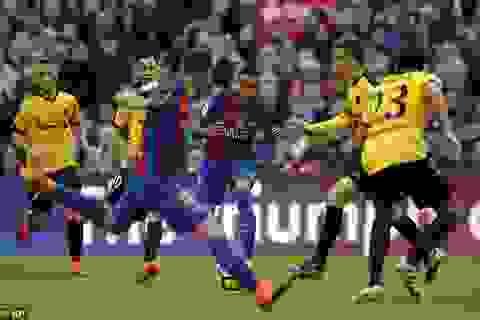 Vắng Messi và Suarez, Barcelona hòa thất vọng Malaga