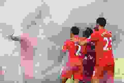 Liverpool đánh bại Everton nhờ bàn thắng phút cuối