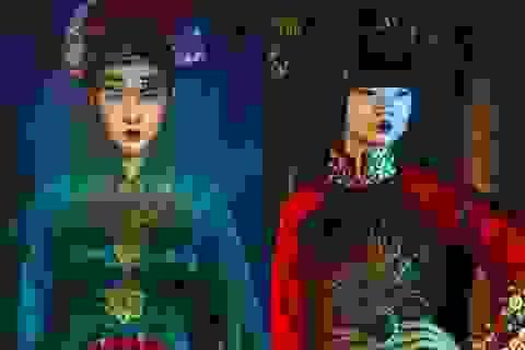 Hạ Vy, Phan Hà Phương khiến du khách quốc tế trầm trồ với áo dài cổ