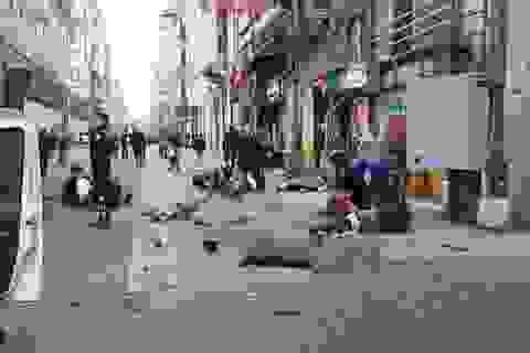 Thổ Nhĩ Kỳ: Đánh bom rung chuyển khu mua sắm đông đúc ở Istanbul, 5 người chết