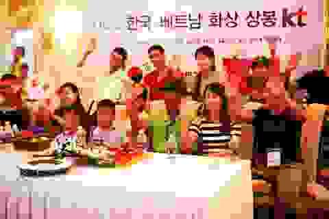 Giao lưu trực tuyến giữa các gia đình Việt - Hàn