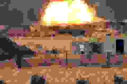 IS phá hủy liền 3 xe tăng Leopard-2 của Thổ Nhĩ Kỳ tại Syria