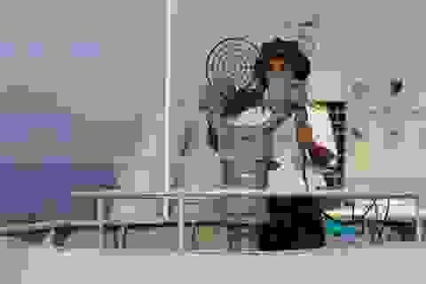 Hình ảnh chiến hạm Việt Nam tại Diễn tập ADMM+