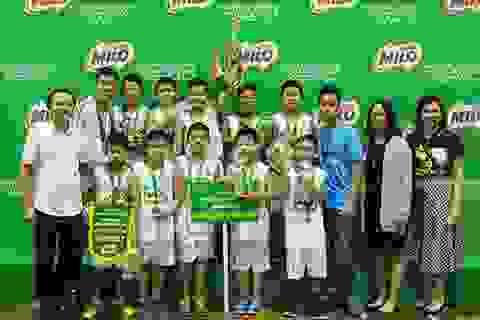 Đội tuyển bóng rổ Ngôi Sao Hà Nội bảo vệ thành công ngôi vô địch Cúp Milo 2016