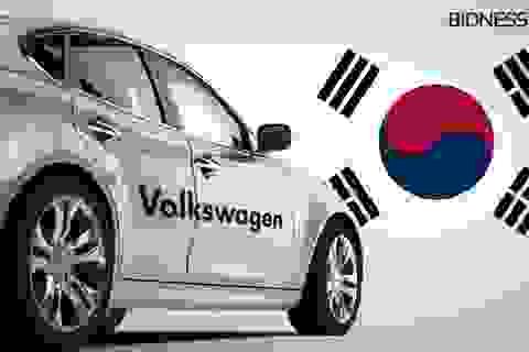 """Volkswagen """"ngoan ngoãn"""" chấp nhận án phạt tại Hàn Quốc"""
