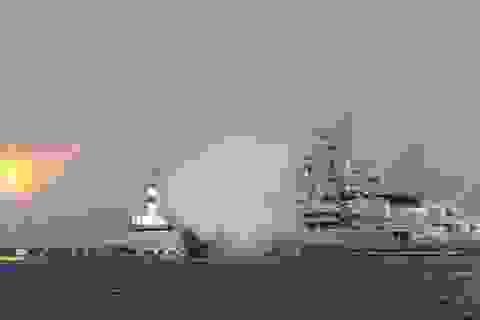 Chiêm ngưỡng loạt tàu chiến Nga tham gia tiêu diệt IS ở Syria