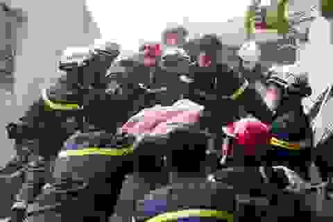 Phán đoán nguyên nhân vụ sập nhà 4 tầng ở Hà Nội