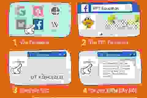 Tra cứu điểm thi với phần mềm của sinh viên FPT