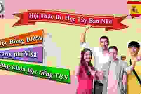 Cơ hội nhận học bổng 100% học phí du học Tây Ban Nha