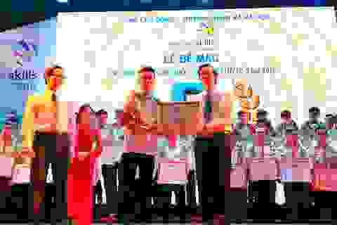 Kỳ thi tay nghề Quốc gia 2016: Hà Nội đứng đầu với 16 giải nhất