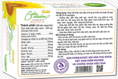 FTA công bố sản phẩm nội tiết tố nữ tốt nhất Việt Nam