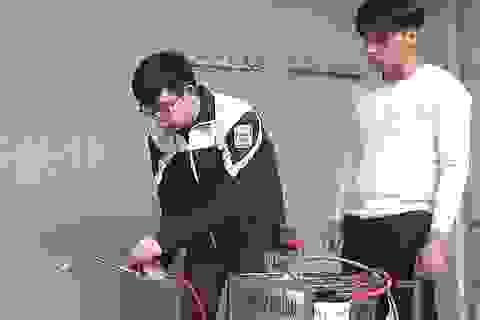 Học sinh chế tạo máy hàn cắt kim loại bằng nhiên liệu nước