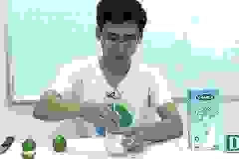 Khoa học vui: Điều gì sẽ xảy ra khi cho nước chanh vào sữa tươi?