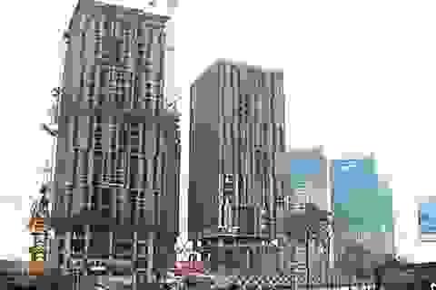 """Hàng loạt ngân hàng """"ngập"""" trong núi nợ của Sông Đà Thăng Long"""
