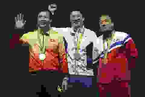 Hoàng Xuân Vinh giành HCB nội dung 50m súng ngắn hơi Olympic 2016