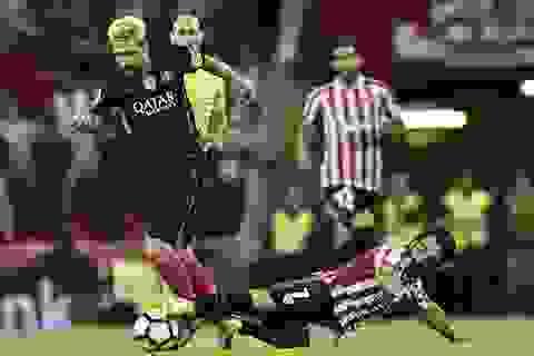 Barcelona vươn lên dẫn đầu La Liga khi vắng Messi?