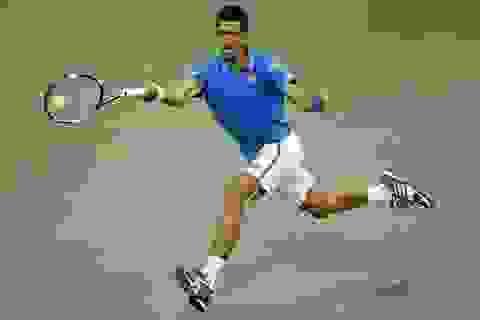 US Open: Tsonga bỏ cuộc, Djokovic vào bán kết
