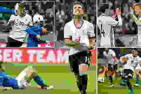 """Đức 4-1 Italia: Đêm thăng hoa của """"cỗ xe tăng"""""""