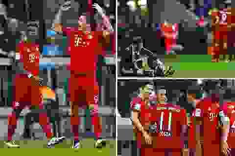 Lewandowski tỏa sáng, Bayern Munich tiến sát đến ngôi vô địch Bundesliga