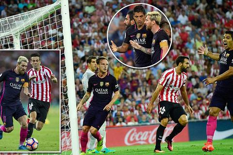 Bilbao 0-1 Barcelona: Rakitic tỏa sáng