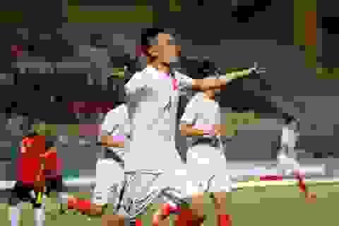 Anh Tỷ lập cú đúp, U19 Việt Nam thắng đậm Đông Timor