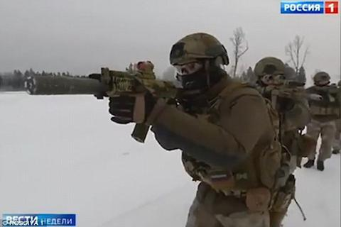 Xem lính đặc nhiệm Nga nổ súng tiêu diệt phiến quân IS tại Syria
