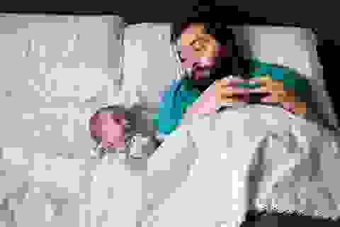 Những khoảnh khắc đẹp của tình cha con