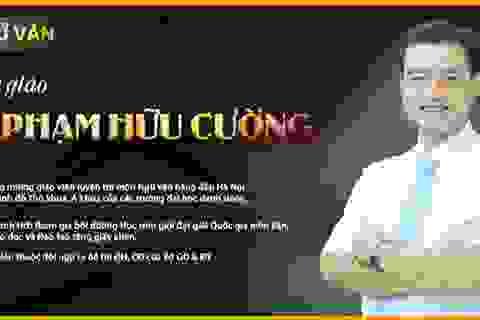 Thầy Phạm Hữu Cường: Một nhà giáo tài hoa tâm huyết với nghề,  dạy văn bằng cả trái tim!