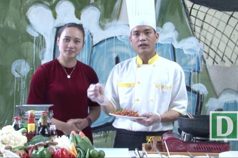 Bếp Ngon: Ca sĩ Khánh Linh tiết lộ món mực khô tuyệt ngon cuối tuần