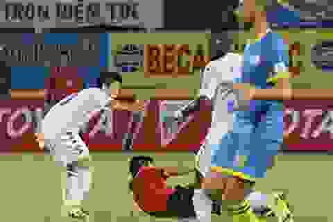 Văn Quyết bị treo giò 5 trận tại V-League