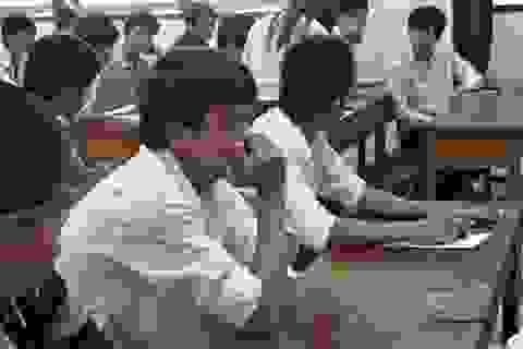 Đề thi trắc nghiệm môn Toán trên mạng không phải của Bộ GD&ĐT