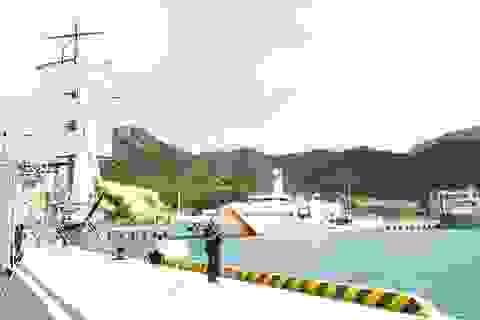 Khai trương Cảng Quốc tế Cam Ranh cung ứng dịch vụ tàu sân bay