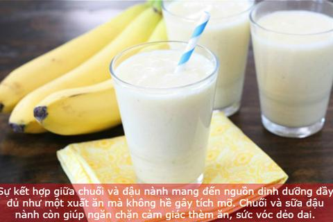 Cặp đôi thực phẩm, thức uống giảm cân hiệu quả