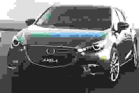 Hé lộ hình ảnh Mazda3 phiên bản nâng cấp...