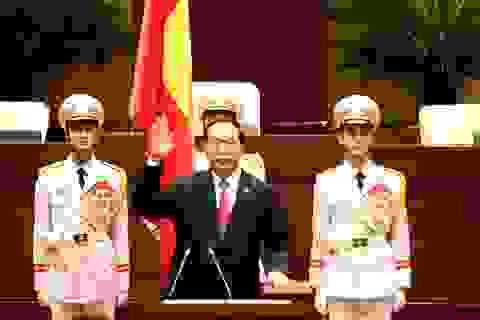 Đại tướng Trần Đại Quang lần thứ 2 nhậm chức Chủ tịch nước