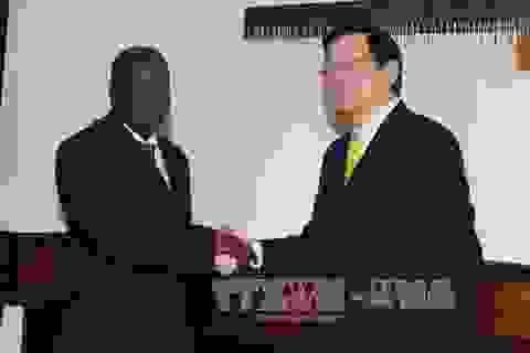 Chủ tịch nước Trương Tấn Sang hội kiến Chủ tịch Quốc hội Tanzania