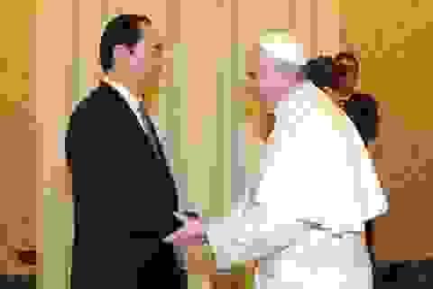 Chủ tịch nước Trần Đại Quang hội kiến Giáo hoàng và Thủ tướng Vatican