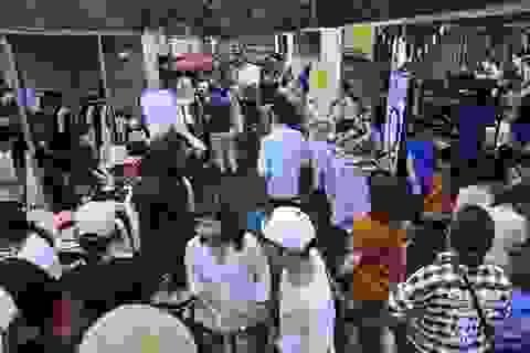 Hội chợ container đầu tiên tại Hà Nội đóng cửa do không có giấy phép