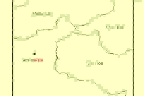 Động đất 3,9 độ Richter tại khu vực Thanh Hóa gần biên giới Việt-Lào