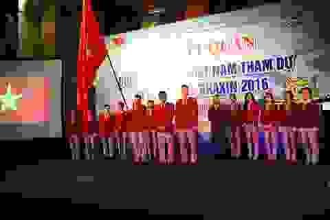 Tưng bừng lễ xuất quân đoàn thể thao Việt Nam dự Olympic 2016